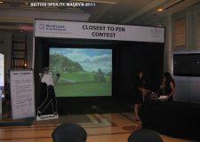 2011 - British Open at Hotel ITC Maurya, New Delhi