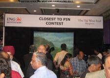 2011 - British Open at Hotel ITC WEST END, Bangalore