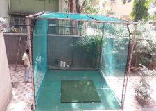 Golf Cage at Backyard