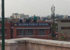 Practice Golf cage at Terrace - Salwan Public School